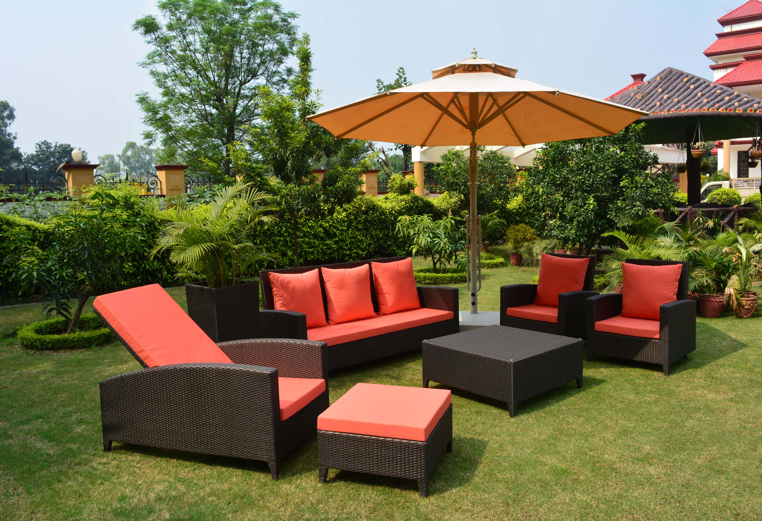 With The Increase Of Outdoor Living Concept, Wicker Furniture Has Gained  Good Traction. Our All Hand Woven Wicker Furniture And Its Fabric Are  Attractive In ...